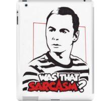 Sheldon Cooper iPad Case/Skin
