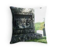Tombstone at Arlington Cemetery Throw Pillow
