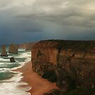 12 Apostles storm by Tony Middleton