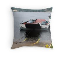 Cable Ferry at Country Harbour Throw Pillow