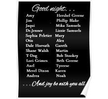 Good Night (w)  Poster