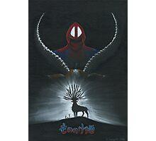 Mononoke hime poster#2 Ashitaka and Yakul Photographic Print