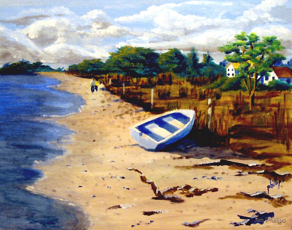 Poor Man's Dry Dock by Jim Phillips