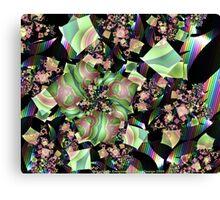 Shattered Rainbow Canvas Print