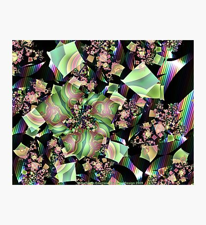 Shattered Rainbow Photographic Print
