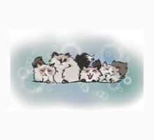 Fluffy Cat Monsters Kids Clothes