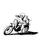 Husqvarna Vintage Motorcycle by RikReimert