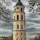Lithuania. Vilnius. Cathedral's Bell Tower. by vadim19