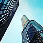 Trump Tower & 330 North Wabash  by JCBimages