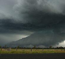 Severe Hailstorm near Lismore by Michael Bath