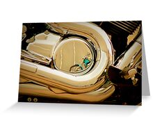 REFLECTED INTRUDER Greeting Card