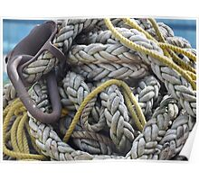 Rope and Anchor Poster