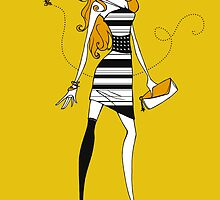 Bee Dress by Lisa Furze