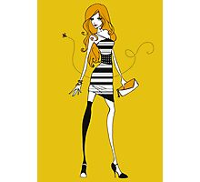 Bee Dress Photographic Print