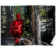 Red Forest Zentai Poster