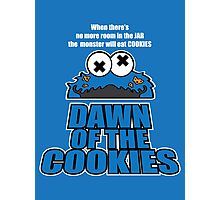 Daawn of the Cookies Photographic Print
