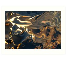 FEVER ABSTRACT  Art Print