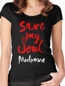 SAVE MY SOUL Women's Fitted Scoop T-Shirt