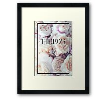 The 1975 floral  Framed Print