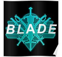 Xenoblade X- Blade Logo Poster