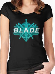 Xenoblade X- Blade Logo Women's Fitted Scoop T-Shirt