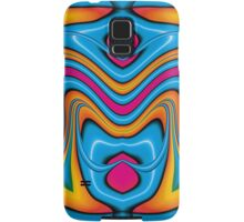 Blue Yoga Samsung Galaxy Case/Skin
