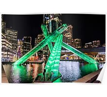 Olympic Cauldron Vancouver Poster