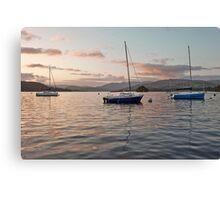 Windermere Sunset Canvas Print