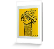 Tiny Diary: Queen Bee Greeting Card