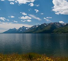 Jackson Lake, Grand Teton NP by Rob Schoon