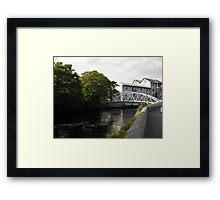 New River Fergus bridge Framed Print