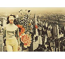 """Postcards from NYC Photographic Print"