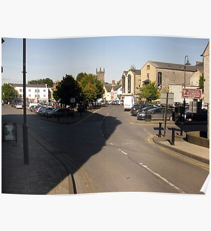Abbey street car park Poster