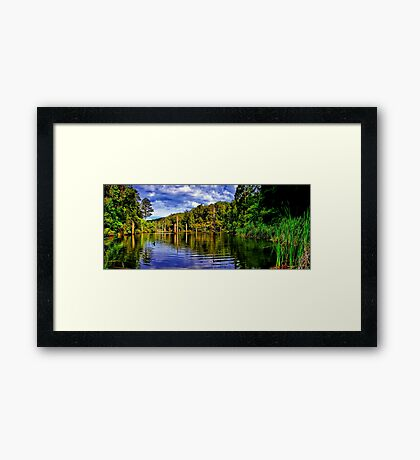 Lake Elizabeth. Framed Print