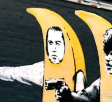 Banana Pulp Fiction  Sticker