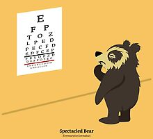 Spectacled Bear Eye Exam by PepomintNarwhal