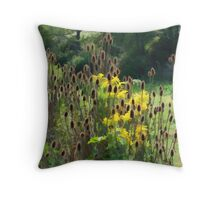 A Brush with Rushes Throw Pillow
