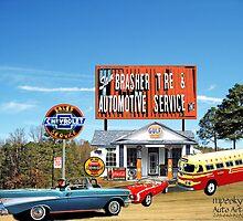 Sam Brasher's Auto Service Moody, Alabama by Mike Pesseackey (crimsontideguy)