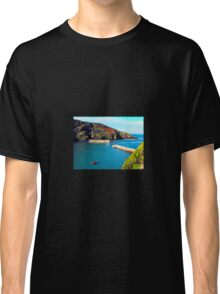 Port Isaac Harbour Classic T-Shirt