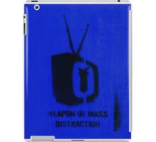 Weapon of mass distraction  iPad Case/Skin