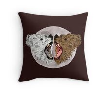Roar Off Throw Pillow