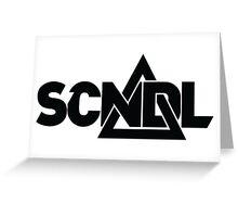 SCNDL Greeting Card