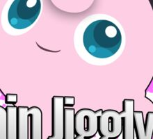 I Main Jigglypuff - Super Smash Bros. Sticker