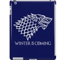 Winter is Coming - House Stark (Game of Thrones)  iPad Case/Skin