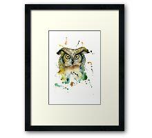 Ivan the Owl Framed Print