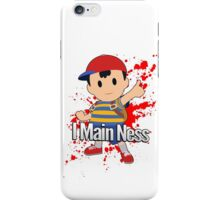I Main Ness - Super Smash Bros. iPhone Case/Skin