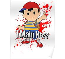 I Main Ness - Super Smash Bros. Poster