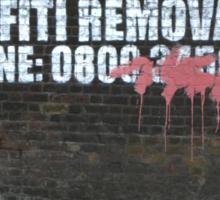 Graffiti Removal Hotline Sticker