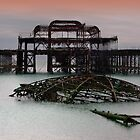 The West Pier Brighton - HDR by Colin J Williams Photography