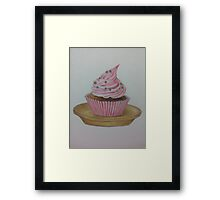 cuppie cake Framed Print